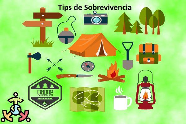tips sobrevivencia camping montaña