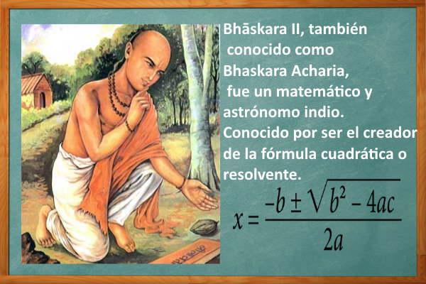 cuadratica formula inventor Acharia Polinomios