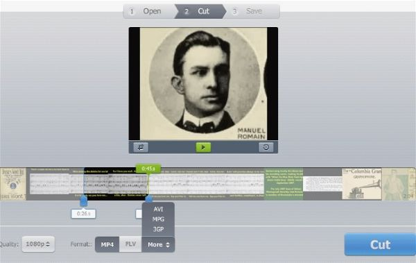 Online Video Cutter Editor Gratis