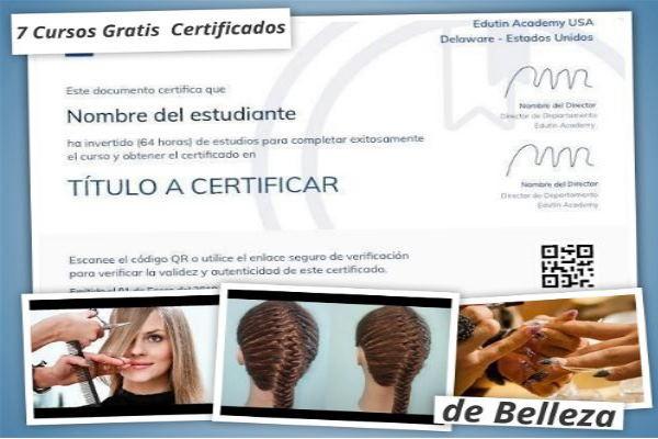 cursos gratis belleza certificados