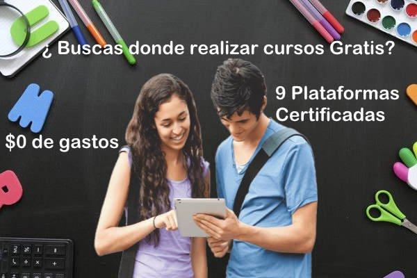 cursos virtuales free plataformas