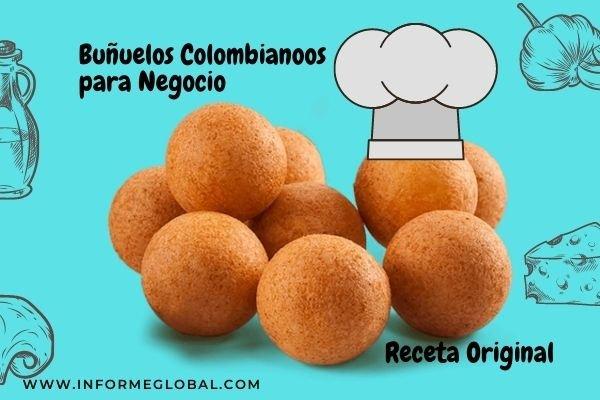 buñuelos queso colombia receta Original