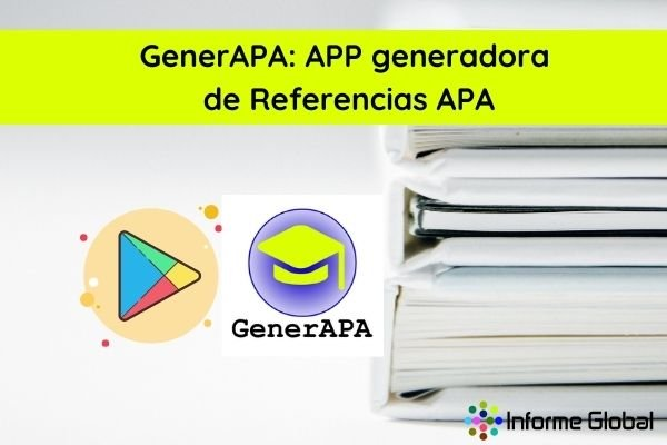 GenerAPA APP generadora de Referencias APA