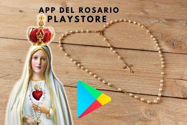 aplicación santo rosario catolico play store