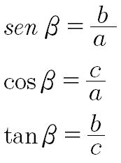 funciones trigonometricas triangulo rectangulo