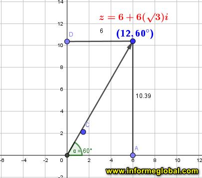 polar coordenadas numeros complejos