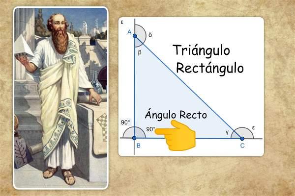 triangulo rectangulo angulo recto