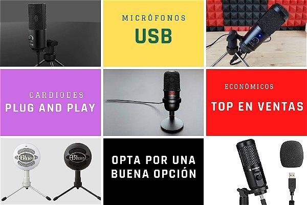 mejores microfonos usb baratos